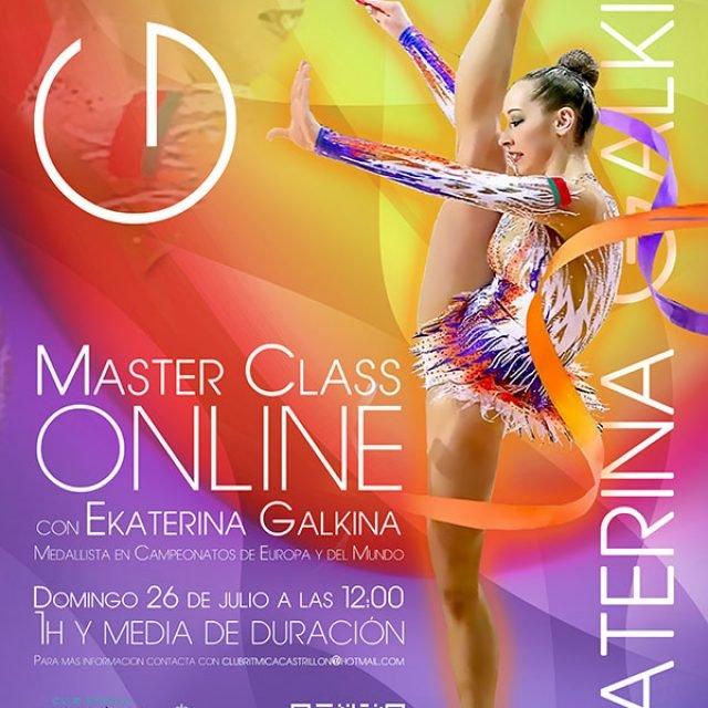 Master class online con Ekaterina Galkina – 26 de Julio 2020 – Gimnasia rítmica